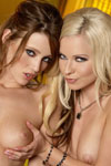 Penthouse girls Carli Banks and Lena