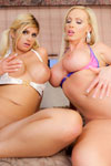 Nikki Benz & Brooklyn Bailey.