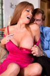 Darla Crane wants a big hard cock to satisfy her lustful needs, so she invites her well-hung fuck buddy Evan Stone over for a lot of frenzied girl-on-top cowgirl cock riding!
